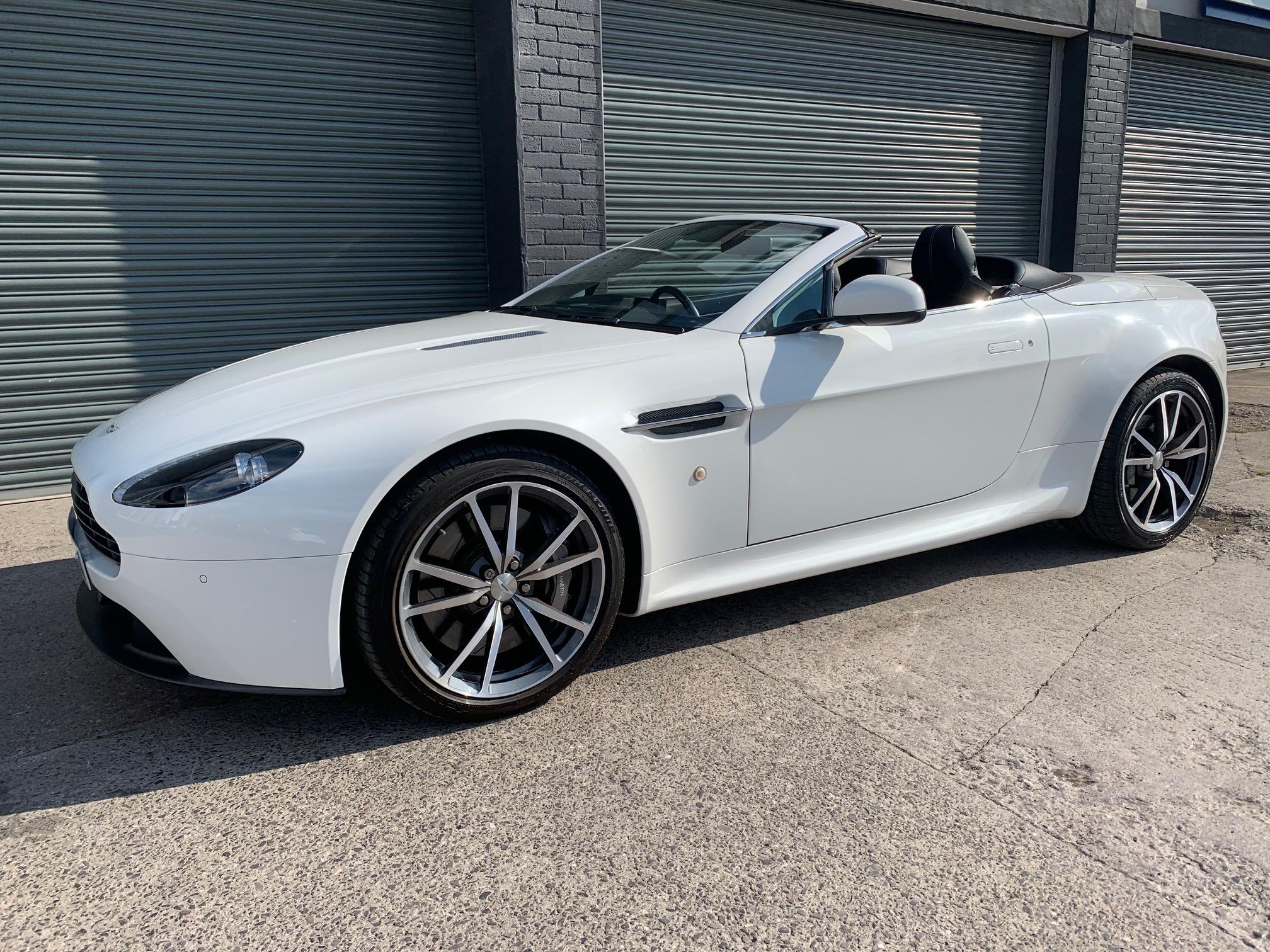 Aston Martin V8 Vantage 4 7 Roadster Sportshift Ii Lts Sports Cars